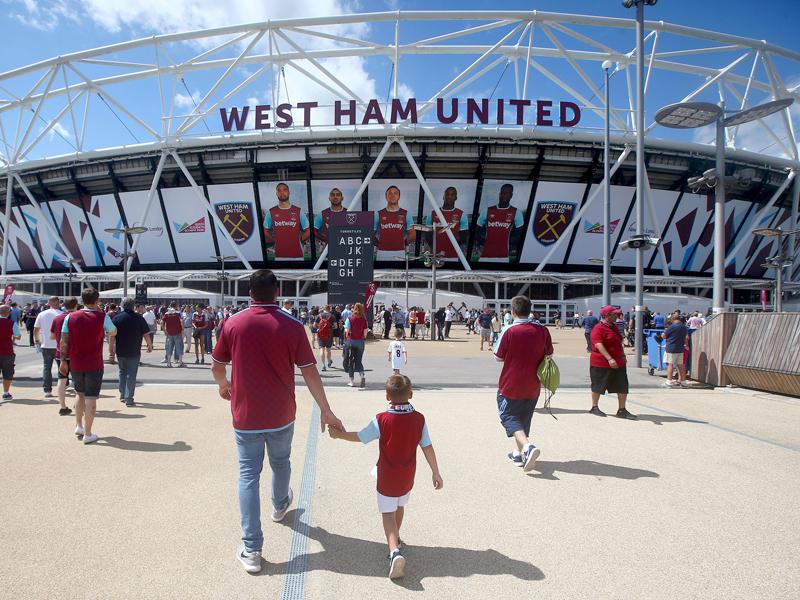 ウェストハムの新本拠地であるオリンピック・スタジアムで開催された [写真]=West Ham United via Getty Images