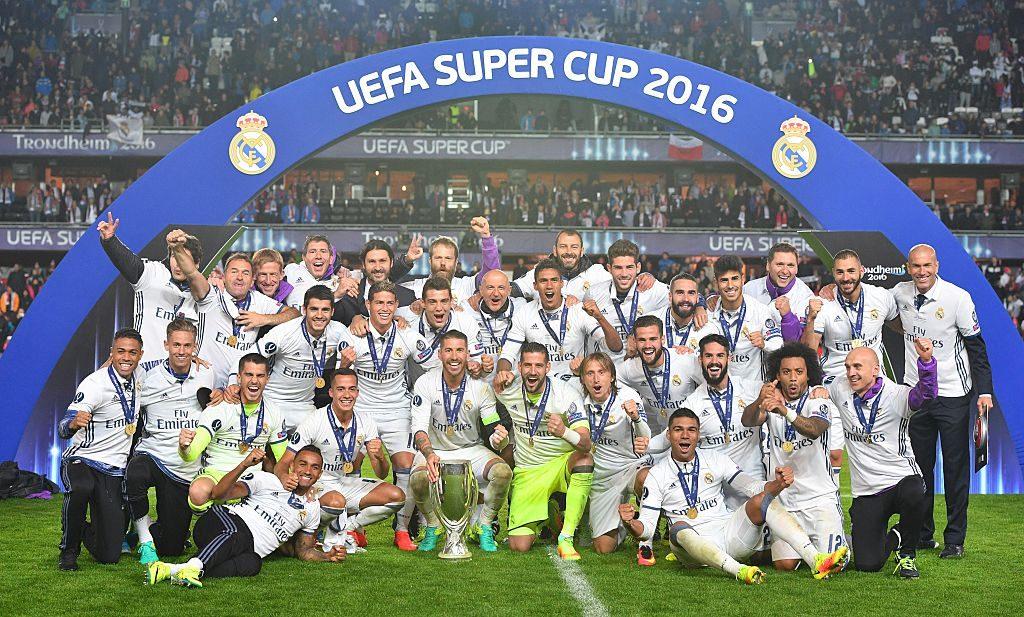 UEFAスーパー杯ではセビージャを下して、今シーズン初タイトルを獲得した [写真]=Getty Images