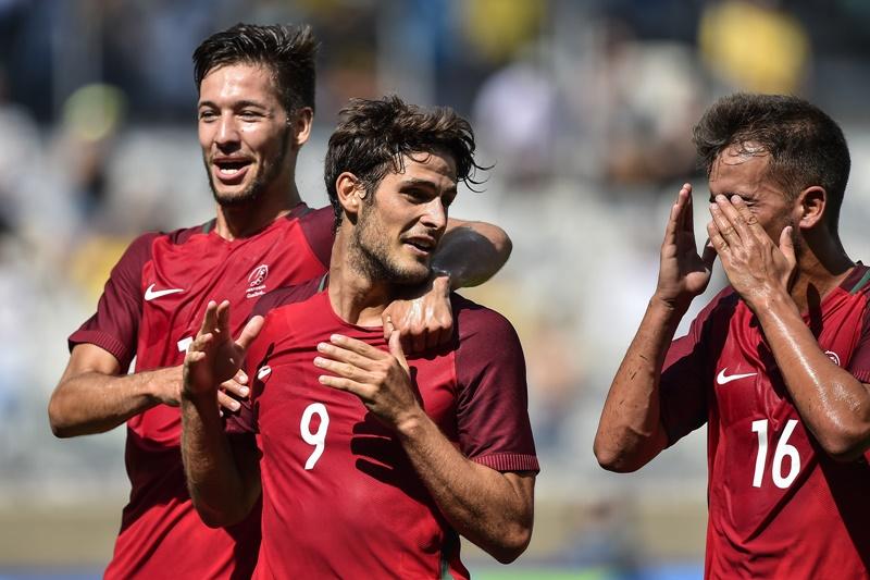 ポルトガルはパシエンシア(中央)が得点した [写真]=Getty Images
