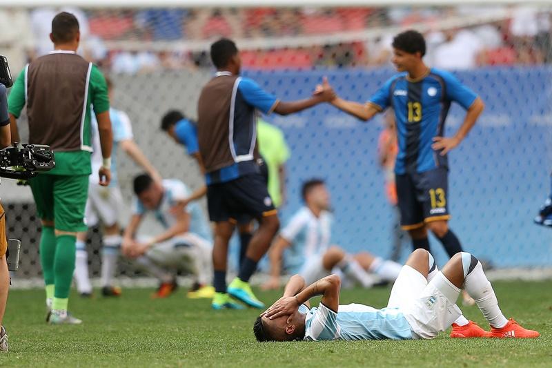 アルゼンチンはまさかのグループステージ敗退となった [写真]=Getty Images