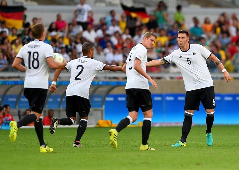 ドイツは大量得点でグループステージを突破した [写真]=Getty Images
