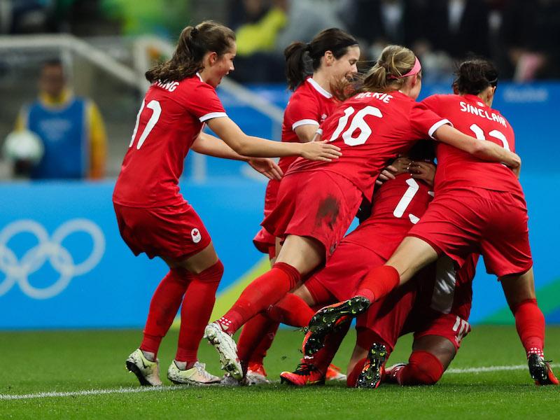 カナダが強豪フランスを撃破。ベスト4へ駒を進めた [写真]=Getty Images
