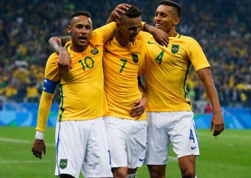 ネイマールが華麗なFKで今大会初弾…ブラジル、コロンビア撃破し準決勝進出