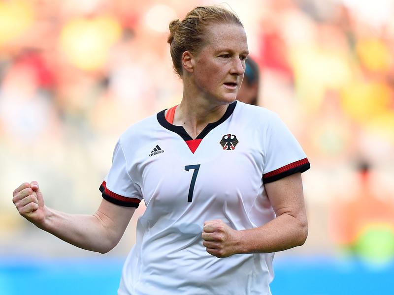先制ゴールを決めたドイツのベーリンガー [写真]=Getty Images