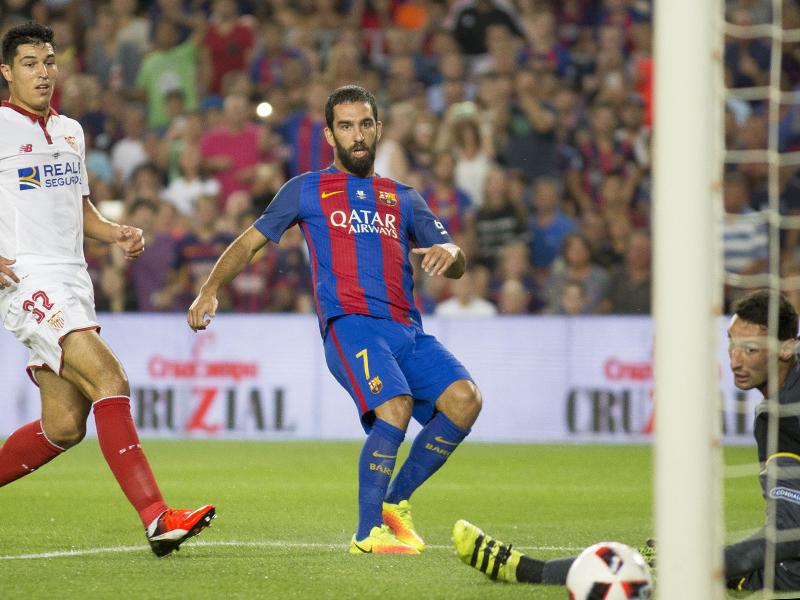アルダが左足シュートで先制ゴールを決めた [写真]=Anadolu Agency/Getty Images