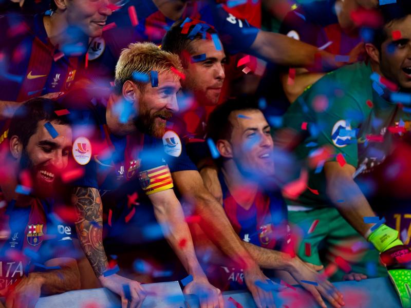 バルセロナが通算12回目のスーペル・コパ制覇を果たした [写真]=Getty Images