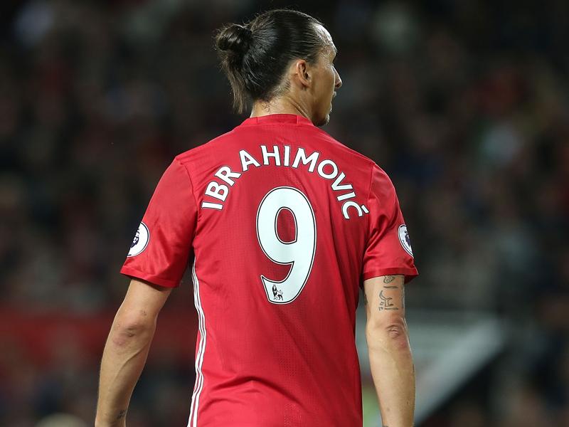 開幕2試合で3ゴールを挙げたイブラヒモヴィッチ [写真]=Man Utd via Getty Images