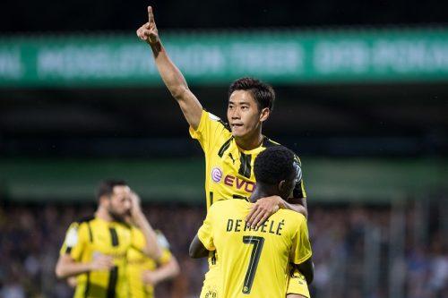 今季初ゴールを挙げた香川、新シーズンに手応え「幸先の良いスタート」