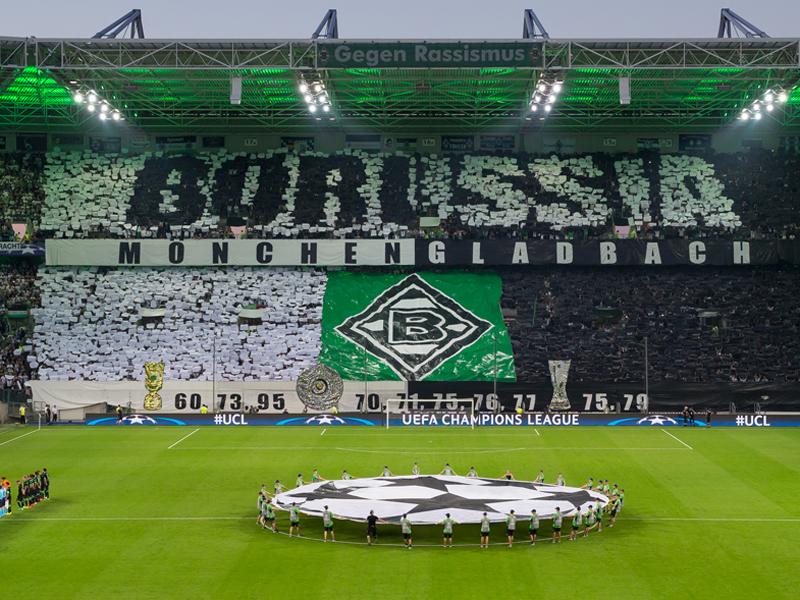 ボルシアMGがホームにヤング・ボーイズを迎えた [写真]=Borussia Moenchengladbach via Getty Images
