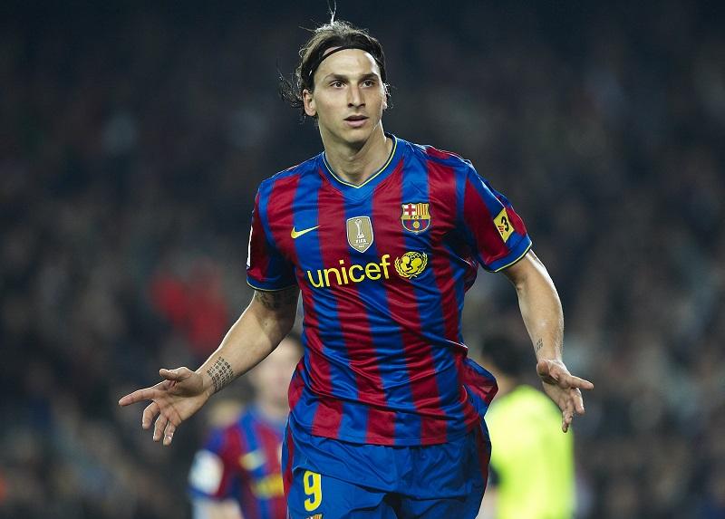 イブラヒモヴィッチは1シーズンでバルセロナを去った [写真]=Getty Images