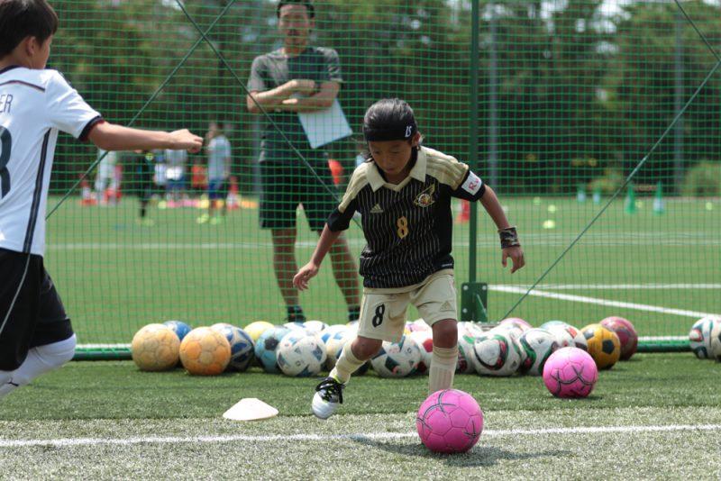 「状況判断」を得意分野に上げた川口遼己くんは、パスとドリブルのコンビネーションでチャンスを演出した