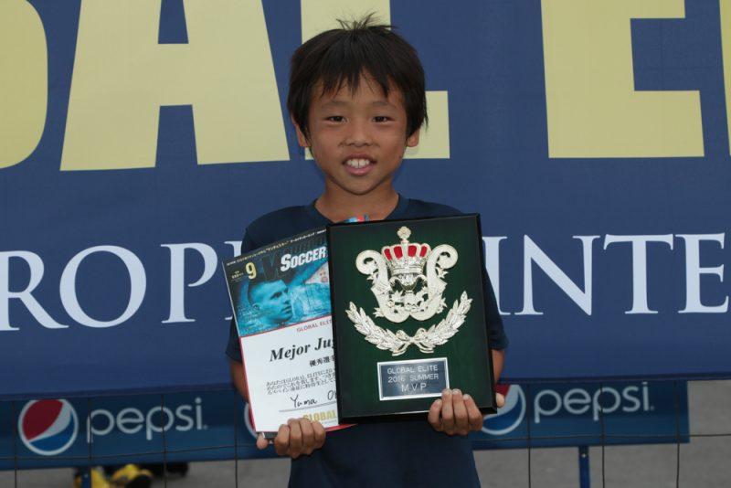 MVPに選出されスペイン行きの切符をつかんだ奥田悠真くんは将来の夢について、「メッシを超える選手になりたい」と語った