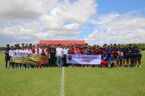 国際交流基金と日系企業がカンボジアでジュニアユース国際大会を開催