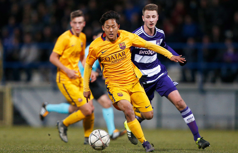 Anderlecht v Barcelona - UEFA Youth League