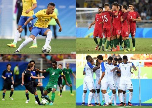 ブラジルがドロー発進、韓国などが快勝で日本は黒星/リオ五輪男子GS第1戦