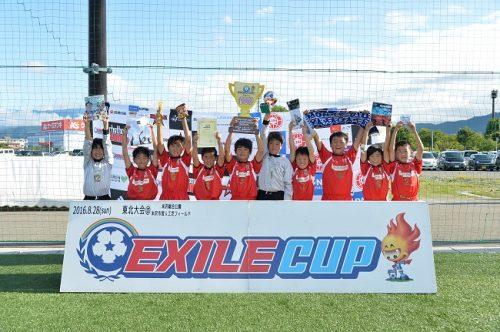 EXILE CUP 2016 東北大会は宮城県富谷町のTOMIYA CLUB Jr.が悲願の初優勝!