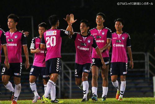 アルビレックス新潟S、2年連続シンガポール杯決勝進出 相手はタンピネス