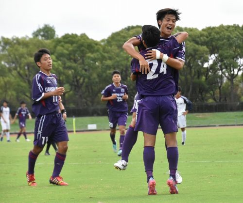 関西大、竹下と塩谷の2戦連続弾で後期リーグ2連勝 インカレ出場圏内の4位に