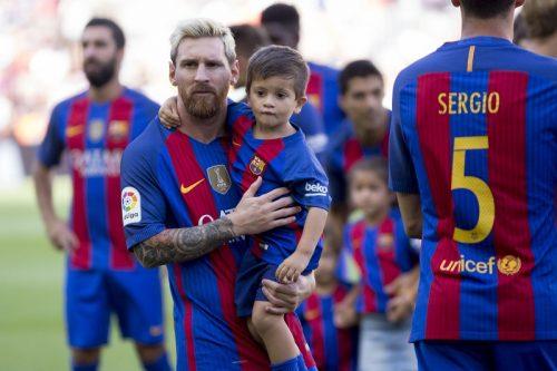 ●トップチームへの第一歩? メッシ息子、バルセロナの育成組織に加入か
