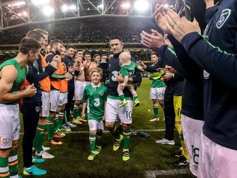 ロビー・キーンがアイルランド代表でのプレーに別れを告げた [写真]=Sportsfile via Getty Images