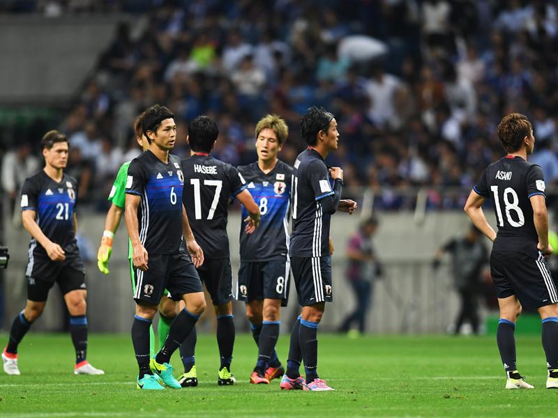 日本はホームで逆転負け。黒星スタートとなった [写真]=Getty Images