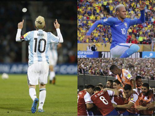 メッシ&ネイマールが決勝弾 コパ王者チリはパラグアイに敗れる/W杯南米予選