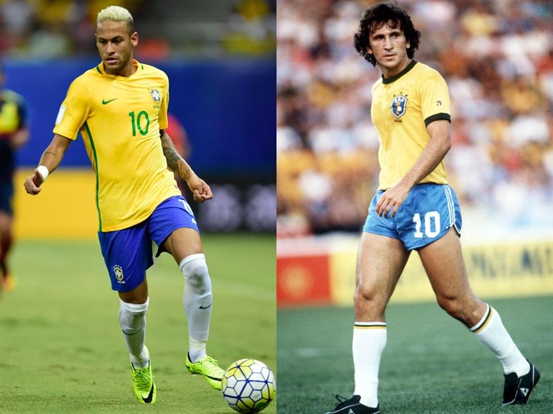 """ブラジル新記録も視野 ネイマールが代表48発、""""神様""""ジーコに並んで ..."""