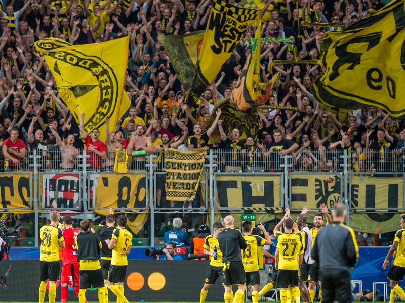 ドルトムントが6-0と圧勝した [写真]=Borussia Dortmund/Getty Images