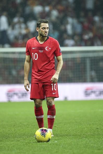 ハカン・チャルハノール(トルコ代表)のプロフィール画像