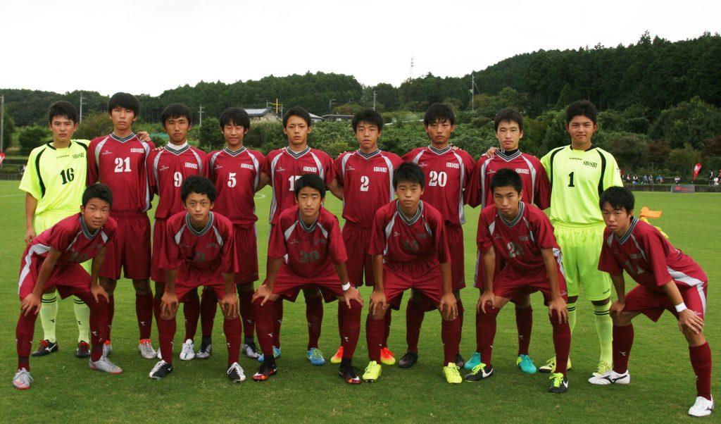 決勝戦は青森山田高校(上)と尚志高校(下)の東北勢同士の顔合わせとなった