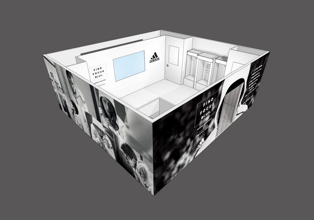 9日から体験型ギャラリー『FIND FOCUS LOCKER ROOM』が渋谷マークシティにオープン
