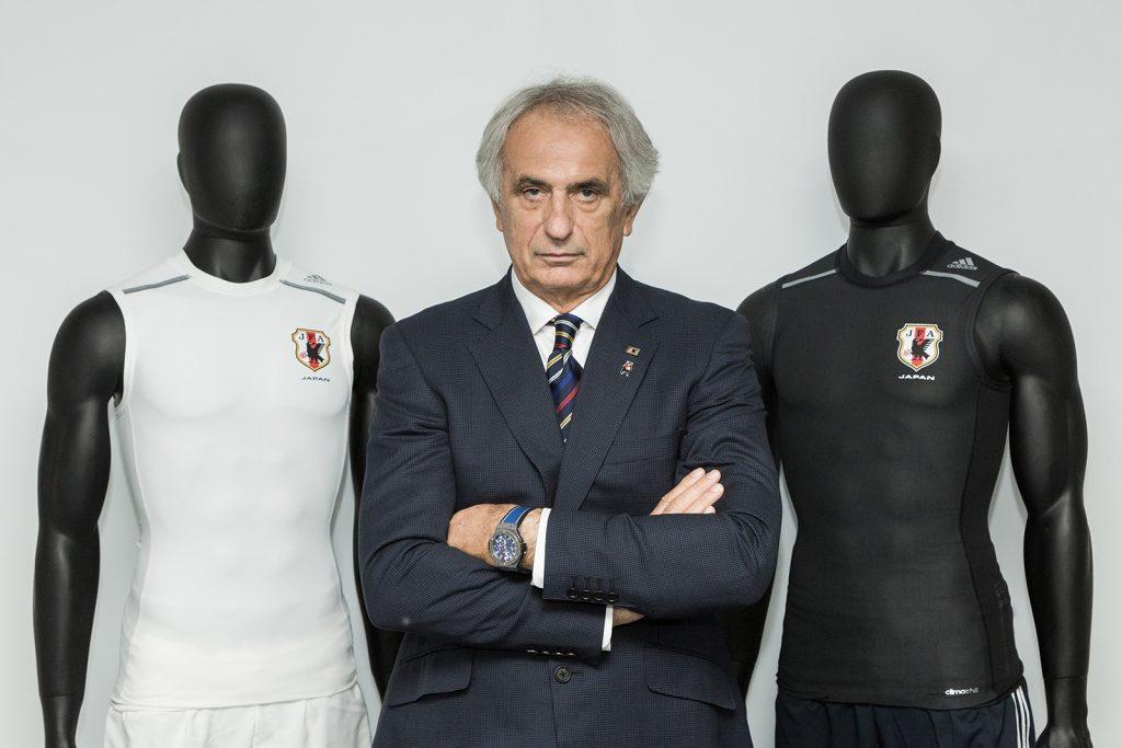 日本代表のハリルホジッチ監督も、選手のコンディションを整えるテックフィットに大きな期待を抱いている