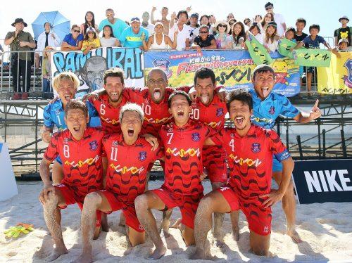 第11回全国ビーチサッカー大会、新潟のフュージョンが日本一に!