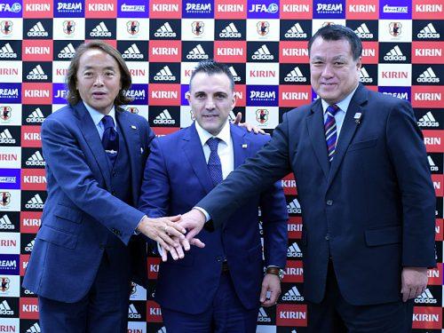フットサル代表、ガルシア新監督が会見で抱負「日本が本来、いるべき場所へ」