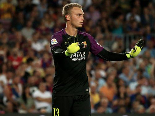 ●右足首負傷で蘭代表離脱 バルサGKシレッセン、復帰まで約3週間か
