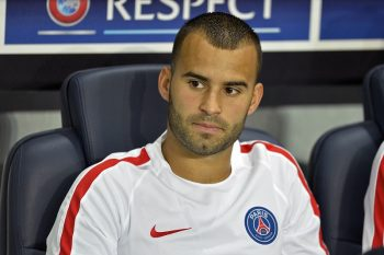 PARIS, FRANCE - SEPTEMBER 13:  Jese seats on the bench during the Champion's League match between Paris Saint-Germain and Arsenal FC at Parc des Princes on September 13, 2016 in Paris, France.  (Photo by Aurelien Meunier/Getty Images)