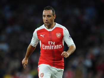 LONDON, ENGLAND - SEPTEMBER 24: Santi Cazorla of Arsenal during the Premier League match between Arsenal and Chelsea at Emirates Stadium on September 24, 2016 in London, England. (Photo by Stuart MacFarlane/Arsenal FC via Getty Images)