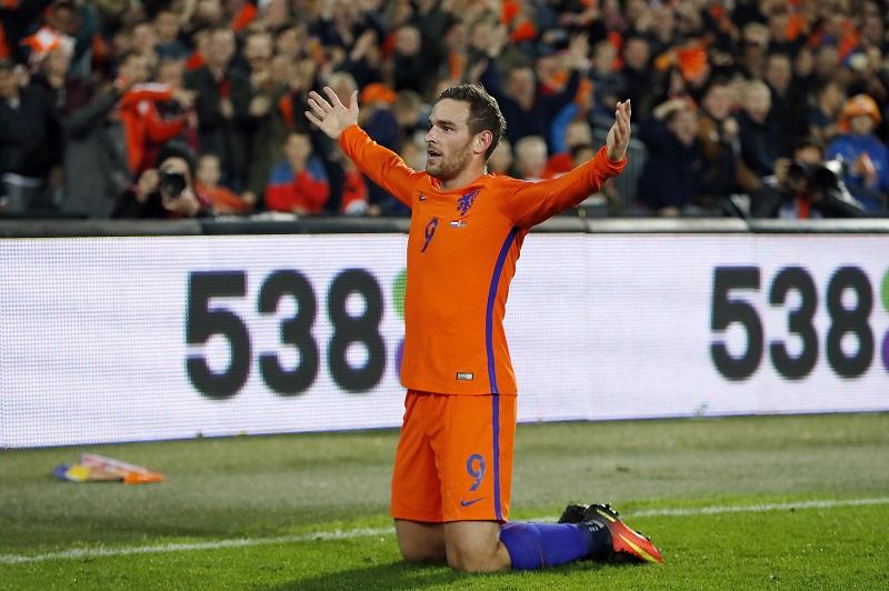 4点目を挙げたヤンセン。オランダの攻撃をけん引した [写真]=Getty Images