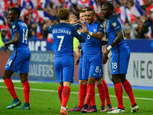 ●開始早々に失点のフランス、ホームで逆転勝利 ブルガリアを4発撃破