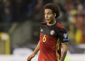 Axel Witsel of Belgiumduring the FIFA World Cup 2018 qualifying match between Belgium and Bosnie Herzegowina on October 07, 2016 at the Koning Boudewijn stadium in Brussels, Belgium.(Photo by VI Images via Getty Images)