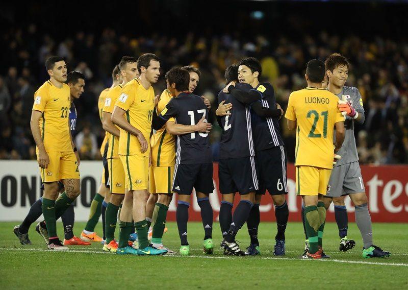 日本代表 オーストラリア代表