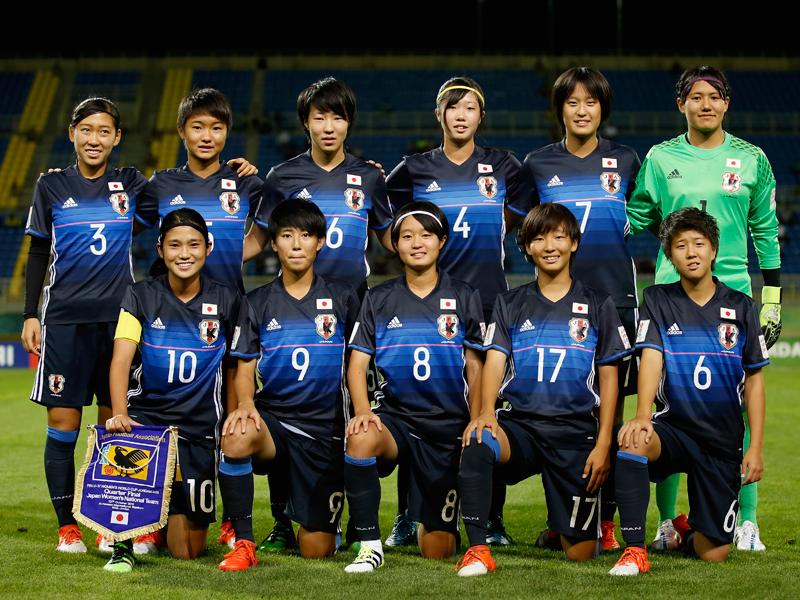 日本の先発メンバー [写真]=FIFA via Getty Images