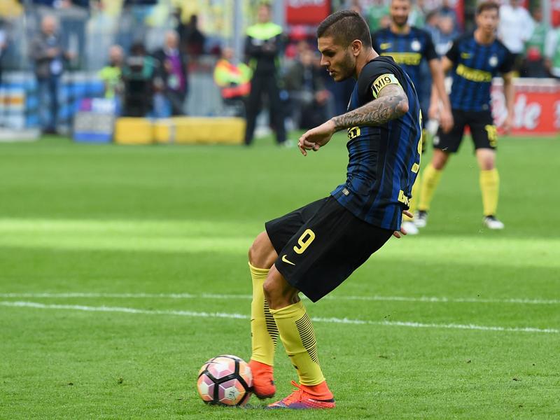 イカルディがPK失敗 [写真]=Inter via Getty Images