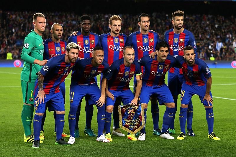 バルセロナのスタメン [写真]=Getty Images