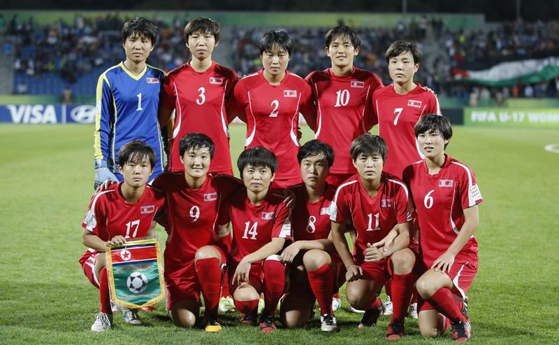 北朝鮮のスターティングメンバー [写真]=FIFA via Getty Images