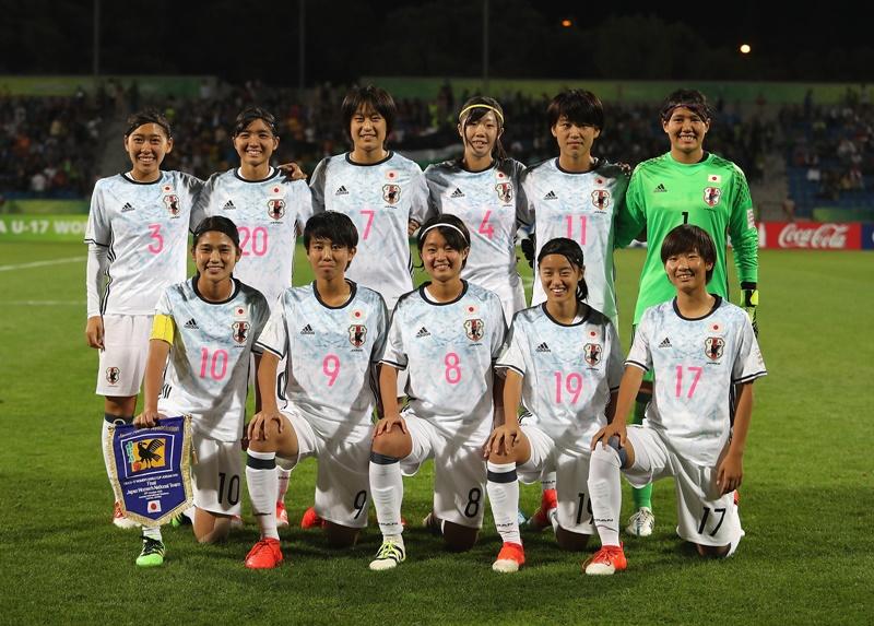 日本のスターティングメンバー [写真]=FIFA via Getty Images