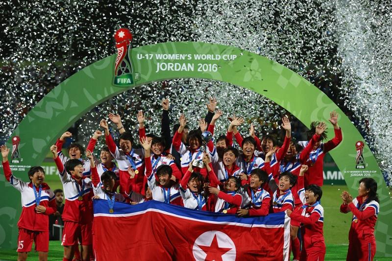 北朝鮮がU-17女子W杯を制した [写真]=FIFA via Getty Images