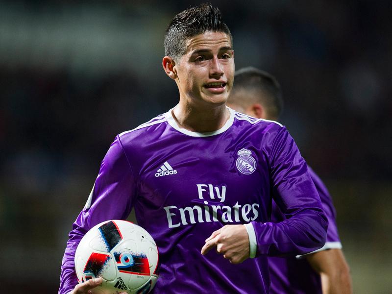 BBCが温存される中、ハメスはフル出場で大勝に貢献した 2ゴールを決めたアセンシオ [写真]=Real Madrid via Getty Images