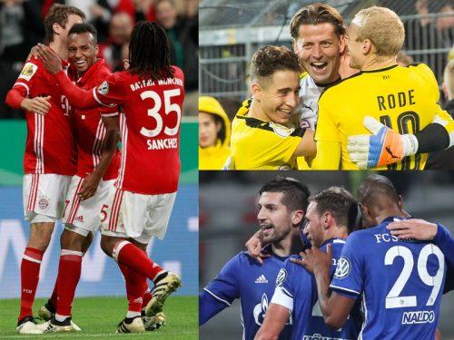 ●バイエルンやドルト、シャルケらが16強へ、マインツは敗退/DFBポカール2回戦