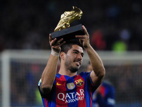 ●バルサ、昨季得点王のスアレスと新契約締結へ 2021年まで延長か